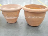 rotomolded flower pots OEM by shanghai chunxu mould