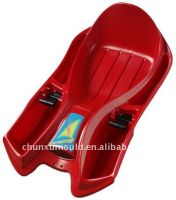 OEM plastic snow sleigh by rotational mould