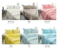 Soft quilting bed sheet with 100% cotton - Queen size