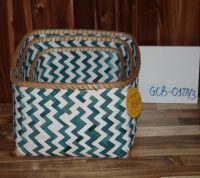 Sets 2 of Bamboo Basket