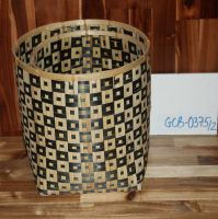 Bamboo Basket with color