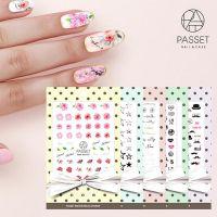 Passet Waterdecal Nail Art Sticker