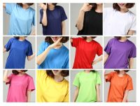 coolon dryfit short sleeve tee with various colors