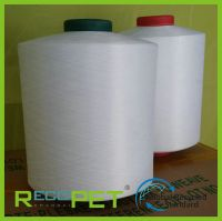 100% RPET DTY yarn of