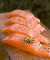 Norwegian Frozen Ray-Finned Salmon Fish
