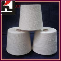 100% polyester material spun technic yarns for weaving