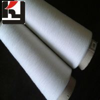 100% polyester material spun technic yarns