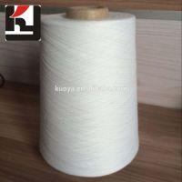 100% polyester ring spun yarns 40s/50s close virgin