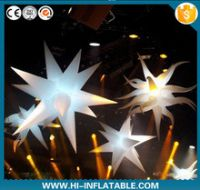 Hot sale led lighting inflatable star for event decoration