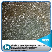 Stuffing glass beads for plush toys