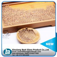 Filling material for plush toys stuffing glass beads from China manufacturer