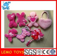 Plush pet toys with BB  Squeaky