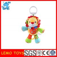 Colorfull lion animal baby rattles