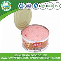 Best selling food canned corned beef