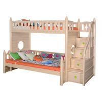 Sampo Kingdom Pine Wood Bunk Bed for Kids