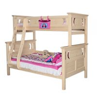 Sampo Kingdom Twin over Full Kids Pine Wood Bunk Bed