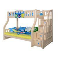 Sampo Kingdom Kids Pine Wood Bunk Bed