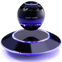 Music Angel Maglev Base Parameters Levitating Portable Wireless Bluetooth Speakers 360 Degree Setero Surround Precision Touch with Microphone for iPhone / iPad