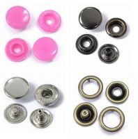 Garment Metal Brass Four Parts Snap Button