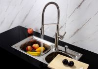 kitchen faucet commercial pull-out sprayer