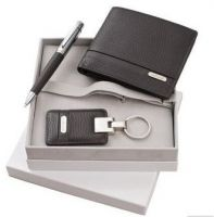 Top grade Leather business VIP gift set for important customer