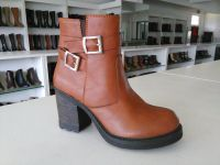 women's fashion casual comfortable ankle boot with heel
