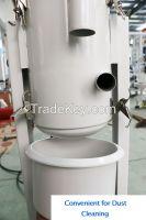 Auto dust collecting plastic material vacuum hopper loader