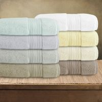 Bath Towel Soft Fluffy With Long Cotton Staple For Hotels