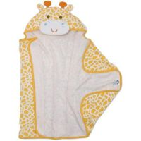 Organic Bamboo Fiber Animal Hooded bath towel