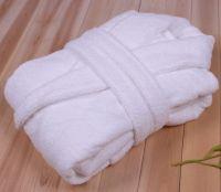 Wholesale antibacrial bamboo fiber household bathrobe