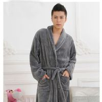100% polyester Microfiber Bathrobes Housecoats for Mens and Ladies in stocks