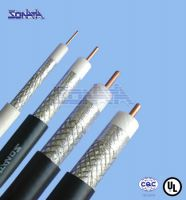 UL approved Communication Cable 5CFB(SYWV-75-5) with bare copper shielded