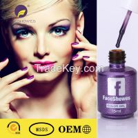 2016 free sample 200 colours non toxic uv organic gel nail polish soak