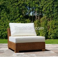 Natural rattan armchair, model MRW-POL-01