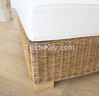 Natural rattan armchair, model MRW-POL-01