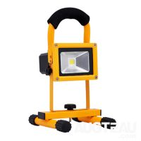 Rechargeable and portable 10w IP65 LED flood lights