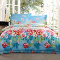 Waltz satin 400tc cotton bed sheet 4 pcs bedding sheet set star hotel linen set