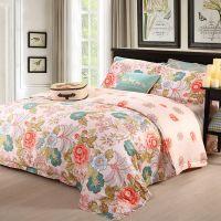 Waltz high quality satin cotton bed sheet set china home textile wholesale