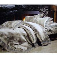 thread count egyptian cotton 4pcs linen bed sheet set