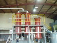 Oil refinery plant/waste lube oil/engine oil/crude oil distillation equipment