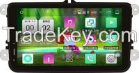 8 Inch VW Android Capacitive Screen Universal Car GPS Navigation