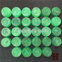 Chinese Jade Chess Full of Green Jadeite chess Treasures with Gifts