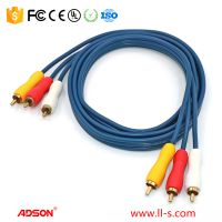Adson 1.5m (4.9ft) 3RCA-3RCA cable