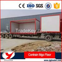 Decorative magnesium oxide boards used for floor
