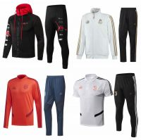 2019-2020 Soccer Tracksuit Soccer Training Kits Sport Football Jackets Tracksuit Uniform with Shirt and Short Sportwear