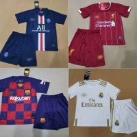2019-2020 Kid Soccer Kits Kid Soccer Uniform with Shirt and Short Football Uniform Kits Sport Wear