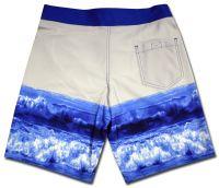 sublimated beach shorts