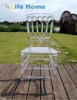 Napoleon Transparent chiavari chair crystal clear wedding chair banquet hotel chair