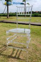 Wholesale Transparent chiavari resin chair wedding chair banquet hotel chair