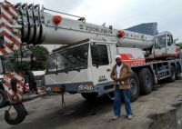 used zoomlion truck crane 80t mobile crane 80 ton QY80V CHEAP SALE BUY SELL